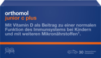 ORTHOMOL Junior C plus Kautabl.Waldfrucht